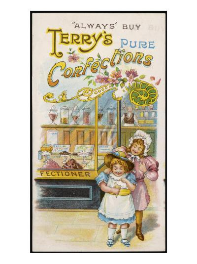 Terry's Pure Confections--Giclee Print