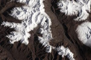 Iss View of the Kunlun Mountain Range by Terry Virts