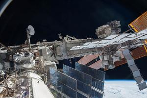 The Exterior of the Iss after Construction Was Completed by Terry Virts