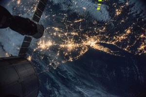 The Lights of the Northeast United States Reveal Where the Population Is Concentrated by Terry Virts