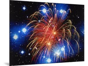 Fireworks and Stars by Terry Why