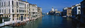Grand Canal, Santa Maria Della Salute, Venice, IT by Terry Why