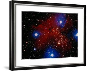 Stars and Nebula by Terry Why