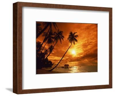 Sunset at Pigeon Point, Tobago, Caribbean