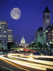 US Capital Building, Washington, DC by Terry Why