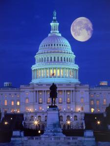 US Capital, Washington, DC by Terry Why