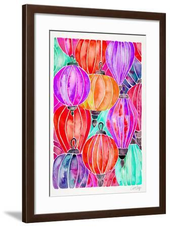 Tertiary Lanterns-Cat Coquillette-Framed Giclee Print