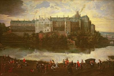 Tervuren Castle in Brussels-Jan Brueghel the Elder-Giclee Print