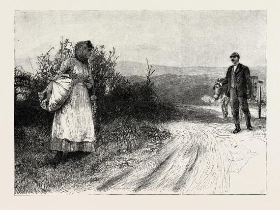 Tess of the D'Urbervilles: Tess Stood Still, and Turned to Look Behind Her--Giclee Print