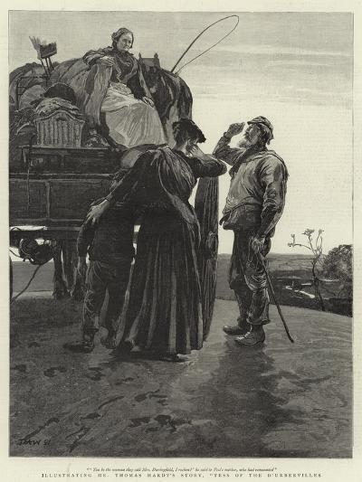 Tess of the D'Urbervilles-Hubert von Herkomer-Giclee Print
