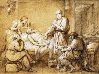 Testament of Eudamida, 1758-Anton Raphael Mengs-Giclee Print