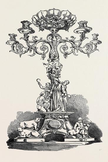 Testimonial Presented to Mr. Joshua Cooper, F.R.S--Giclee Print