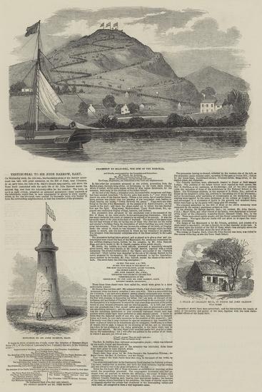Testimonial to Sir John Barrow, Baronet--Giclee Print