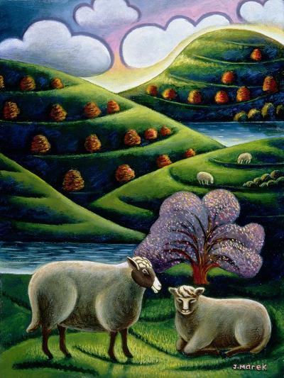 Tete a Tete-Jerzy Marek-Giclee Print