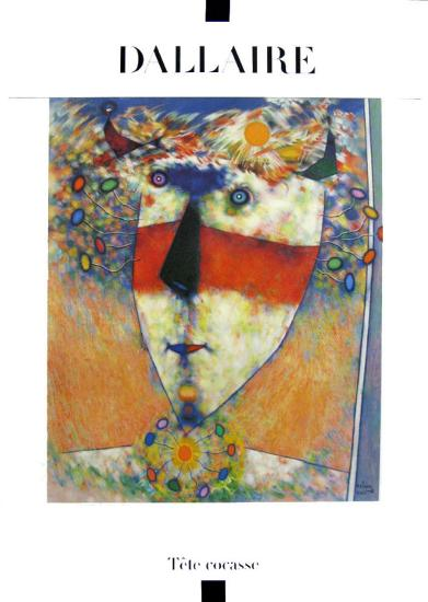 Tête Cocasse-Jean Dallaire-Art Print