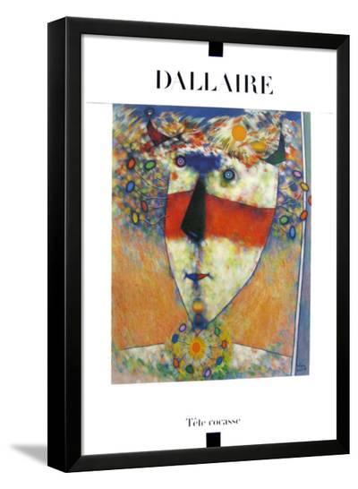 Tête Cocasse-Jean Dallaire-Framed Art Print