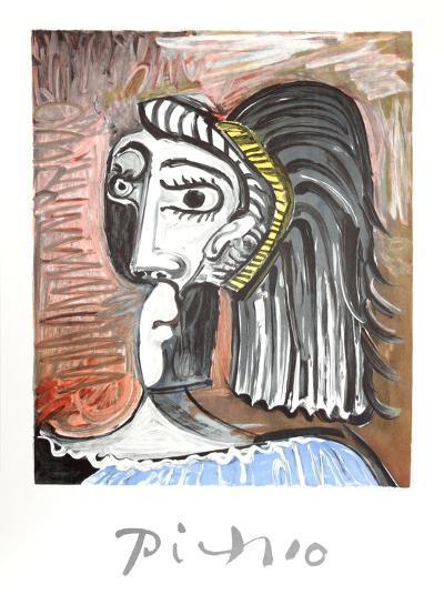 Tete de Femme-Pablo Picasso-Collectable Print