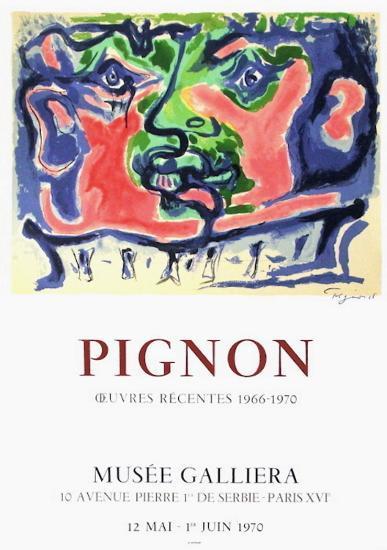 Tête de guerrier-Edouard Pignon-Collectable Print