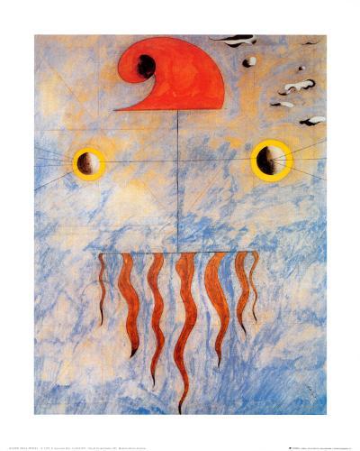 Tete de Paysan Catalan, c.1925-Joan Mir?-Art Print