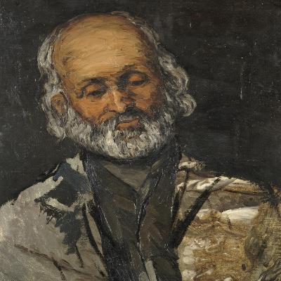 Tête de vieillard-Paul C?zanne-Giclee Print