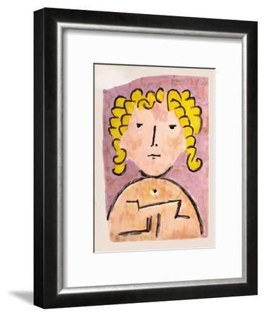 Tete Denfant-Paul Klee-Framed Premium Edition