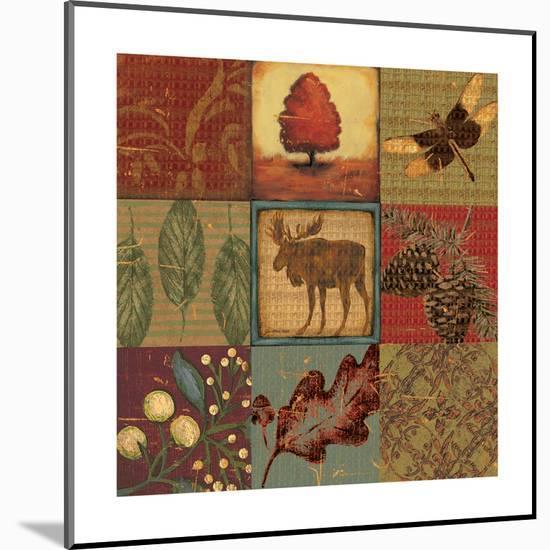 Teton Tapestry II-Jo Moulton-Mounted Print