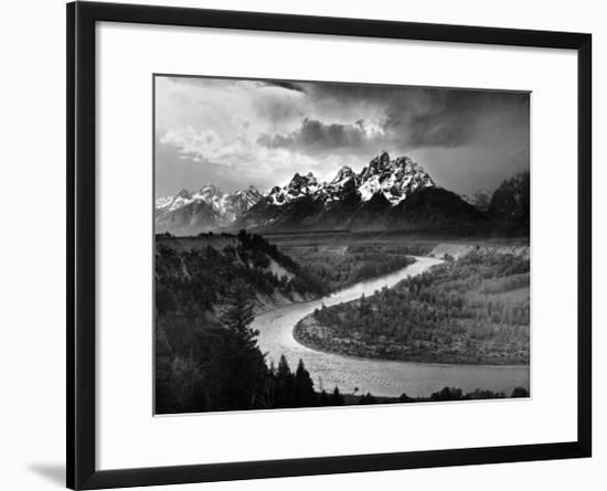 Tetons And The Snake River Grand Teton National Park C 1942 Ansel