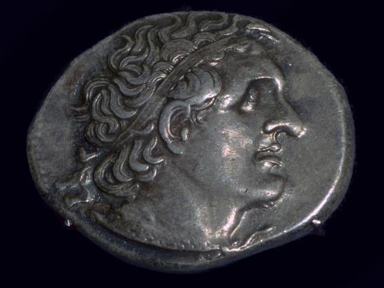 Tetradrachm of King Ptolemy I of Egypt (387-283BC), c305-282 BC. Artist: Unknown-Unknown-Giclee Print