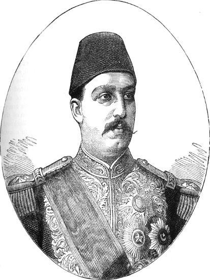 'Tewfik, Khedive of Egypt', c1882-Unknown-Giclee Print