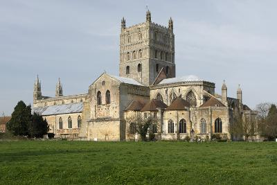 Tewkesbury Abbey, Gloucestershire, 2010-Peter Thompson-Photographic Print