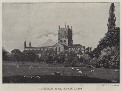 Tewkesbury Abbey, Gloucestershire--Giclee Print