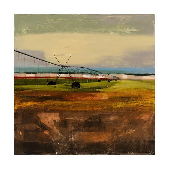 Texas Agriculture-Sisa Jasper-Art Print