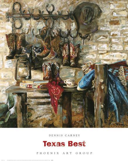 Texas Best-Dennis Carney-Art Print