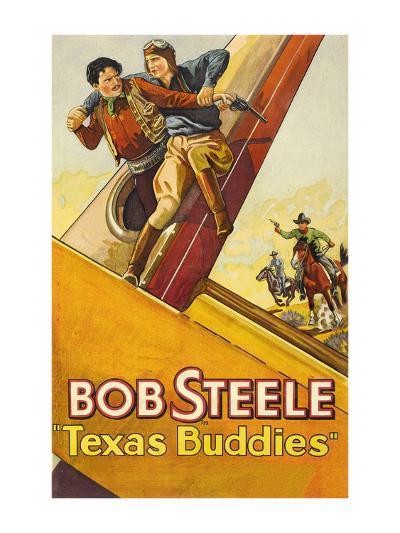 Texas Buddies--Art Print