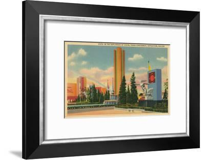 Texas Centennial Exposition, Dallas--Framed Art Print