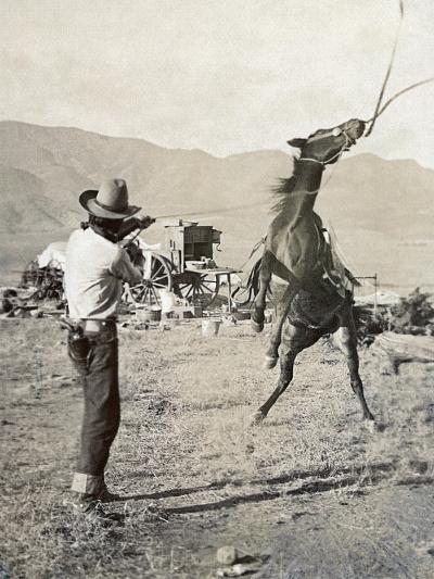 Texas: Cowboy, c1910-Erwin Evans Smith-Giclee Print