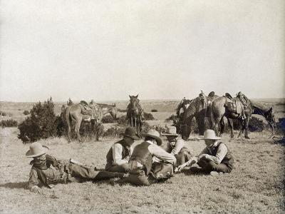 Texas: Cowboys, c1906-Erwin Evans Smith-Giclee Print