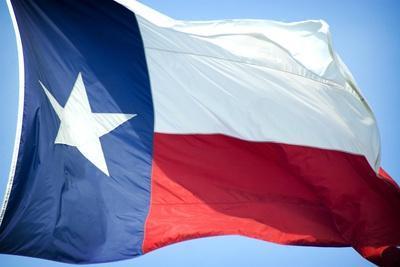 Texas Flag-John Gusky-Photographic Print