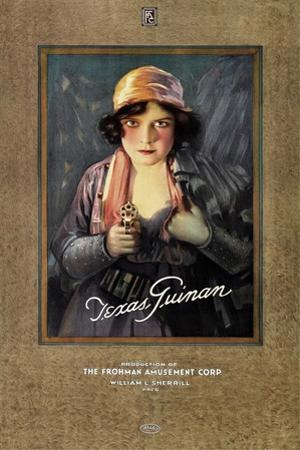 Texas Guinan, on 1919 personality poster