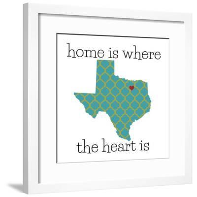 Texas Home-N. Harbick-Framed Art Print