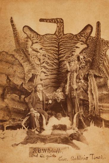 Texas Ranger Robert Hall-D. P. Barr-Art Print