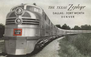 Texas Zephyr, Streamlined Train