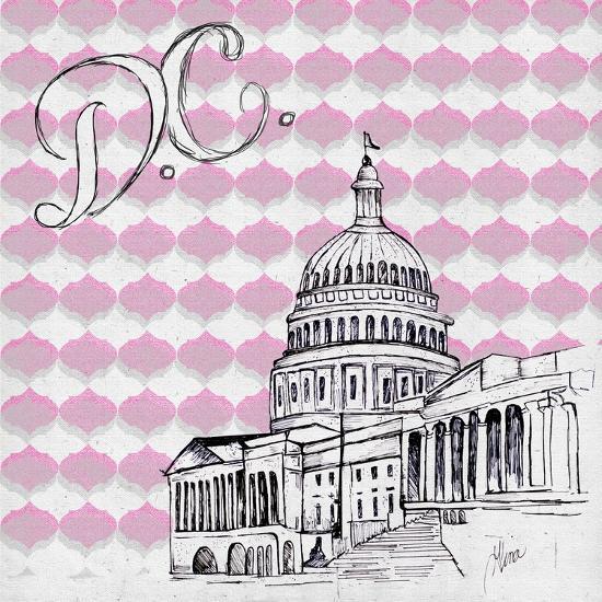 Textile D.C.-Gina Ritter-Premium Giclee Print