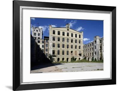Textile Factory (1874), Cuorgne', Piedmont, Italy--Framed Photographic Print