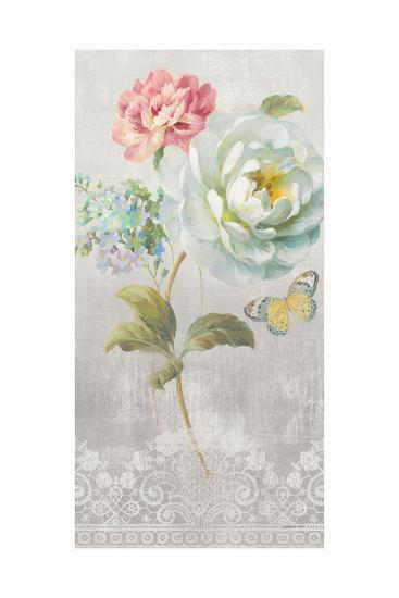 Textile Floral Panel I-Danhui Nai-Art Print