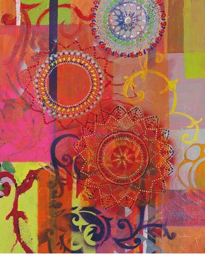 Textile Idea-Jeanne Wassenaar-Art Print