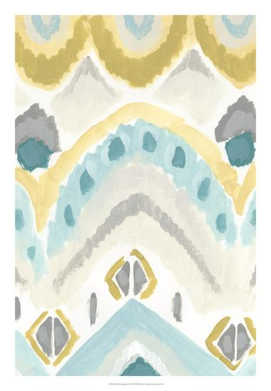 Textile Impression I-June Erica Vess-Giclee Print