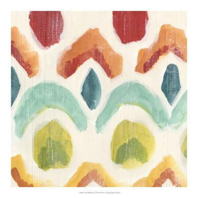 Textile Kaleidoscope I-June Erica Vess-Giclee Print