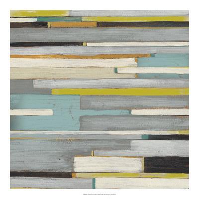 Textile Texture II-Julie Silver-Giclee Print