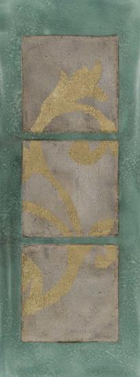 Textural Triptych III-Jennifer Goldberger-Art Print